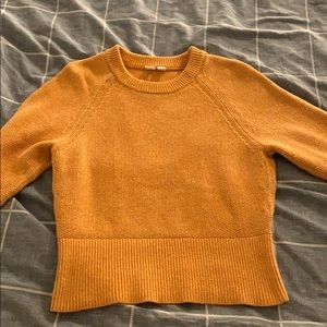 Uniqlo U Warm Yellow Sweater